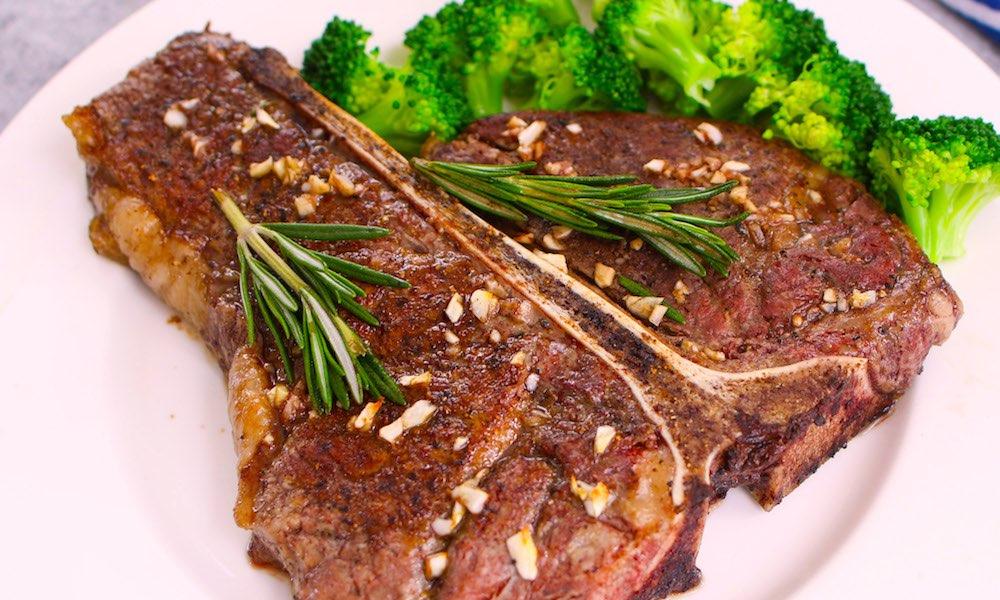 Perfect T-Bone Steak