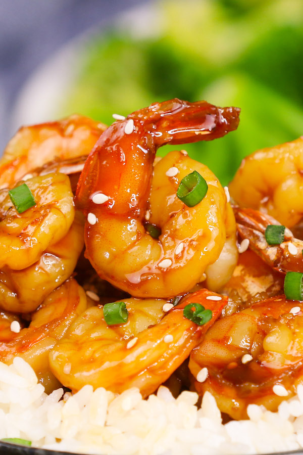 15 Minute Easy Teriyaki Shrimp Tipbuzz