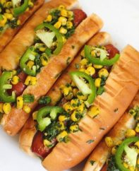 These Tex Mex Hot Dogs are fun and easy to make