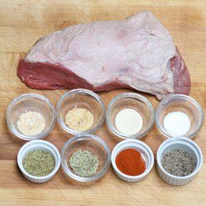 Santa Maria seasoning rub for tri tip
