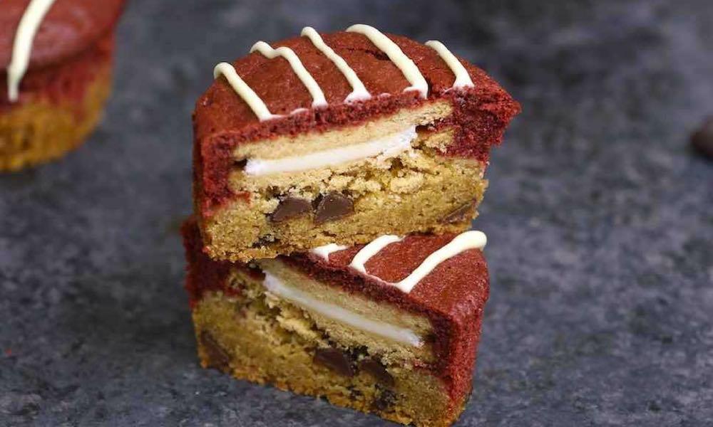Golden Slutty Brownie Cupcakes