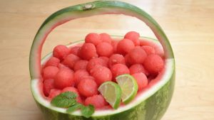 This Watermelon Basket is so much fun to make with these hacks