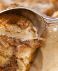 This Cinnamon Roll Apple Streusel recipe is delicious and easy to make