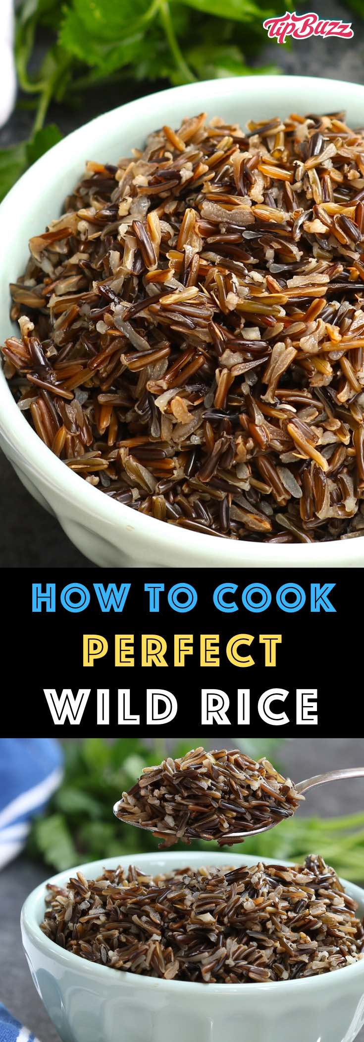 Wild rice is healthy and delicious with a fluffy texture and a nutty flavor. Learn the different ways to make it including stovetop, oven, microwave and Instant Pot!