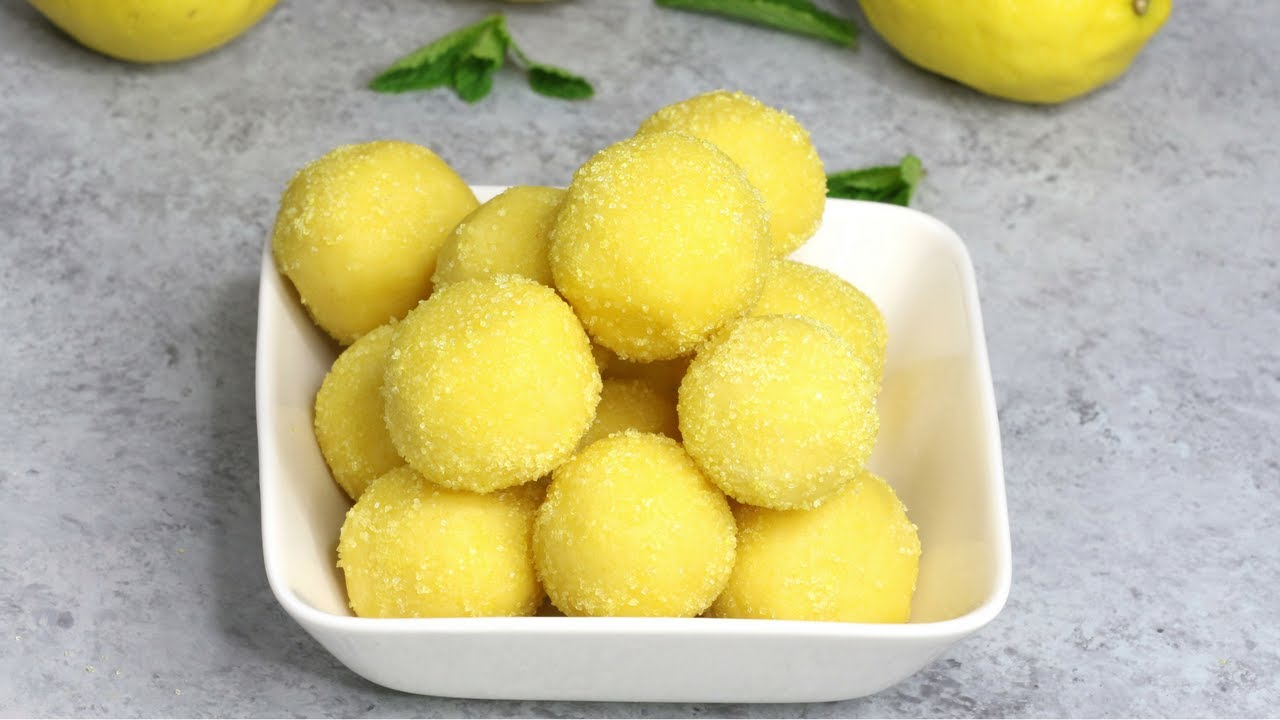 Lemon Truffle Cake Balls