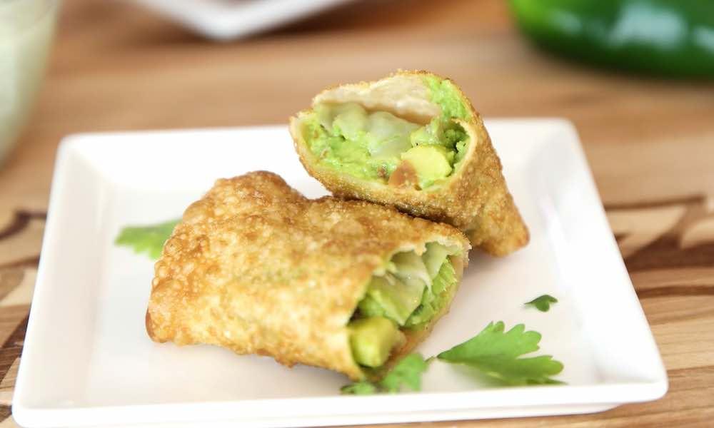 Easy Cheesecake Factory Avocado Egg Rolls {copycat}