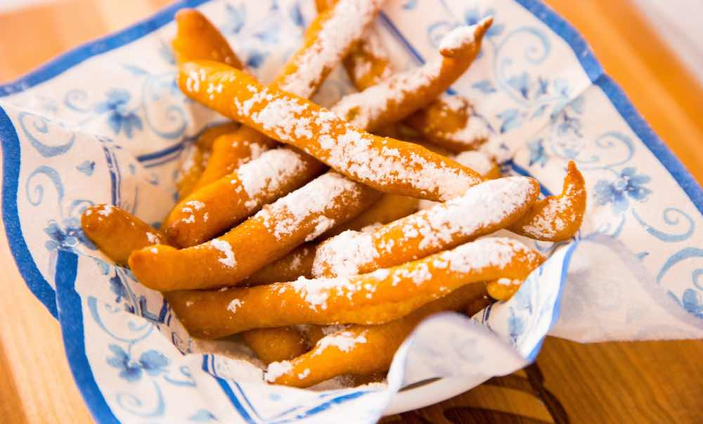 Funnel Cake Fries - light and airy funnel cake made