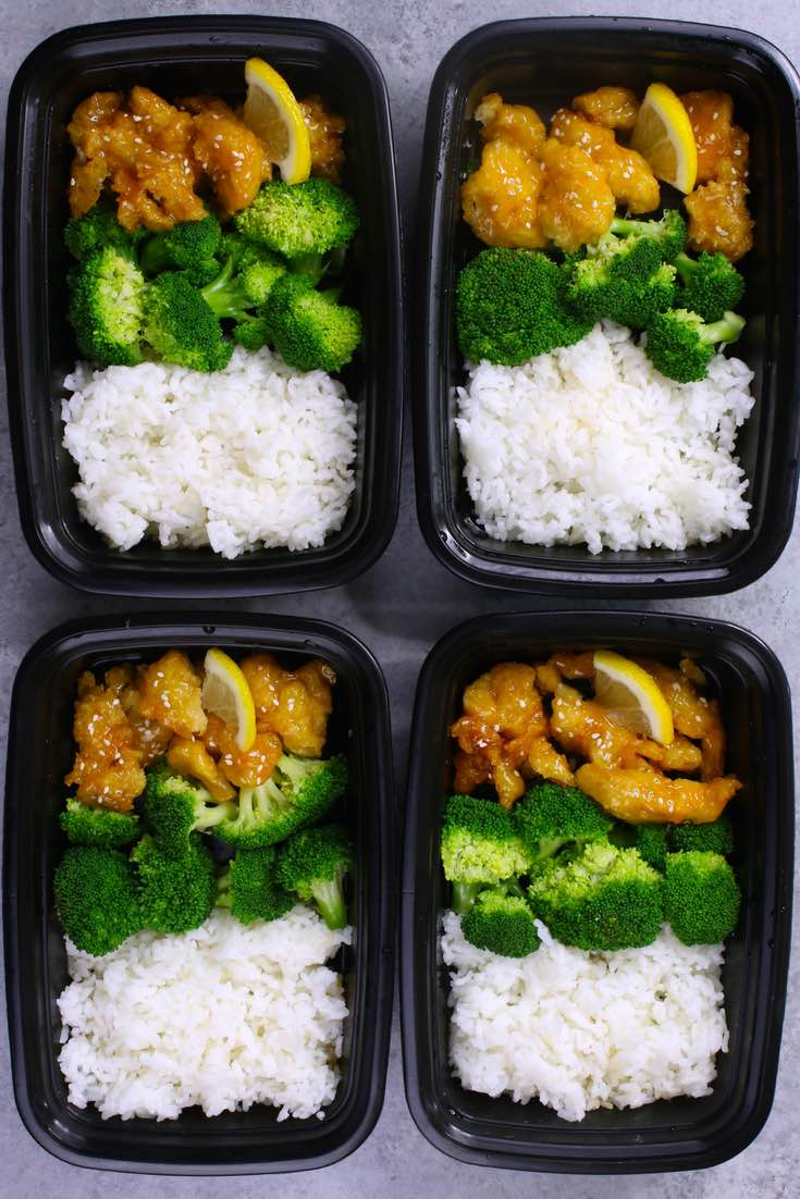 Lemon chicken meal prep recipe with video tipbuzz for Different meals to make with chicken