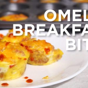 This Omelet Breakfast Muffins recipe is a fun and easy way to start your day