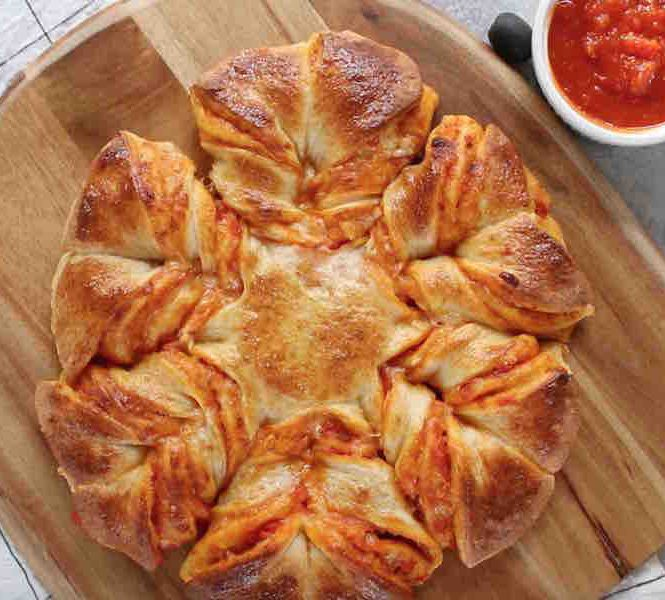 The Best Pull Apart Pizza Braid Recipe With Video Tipbuzz